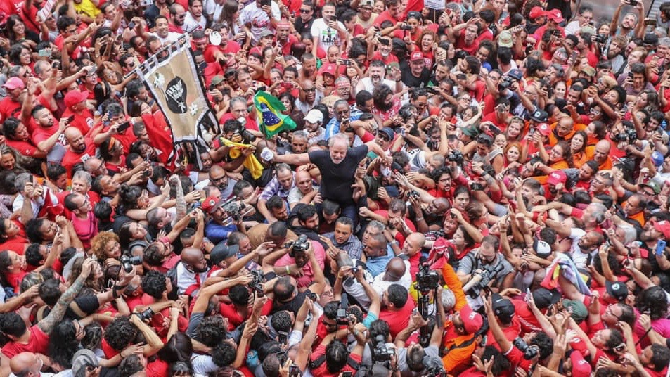 Luiz Inácio Lula da Silva Released from Jail