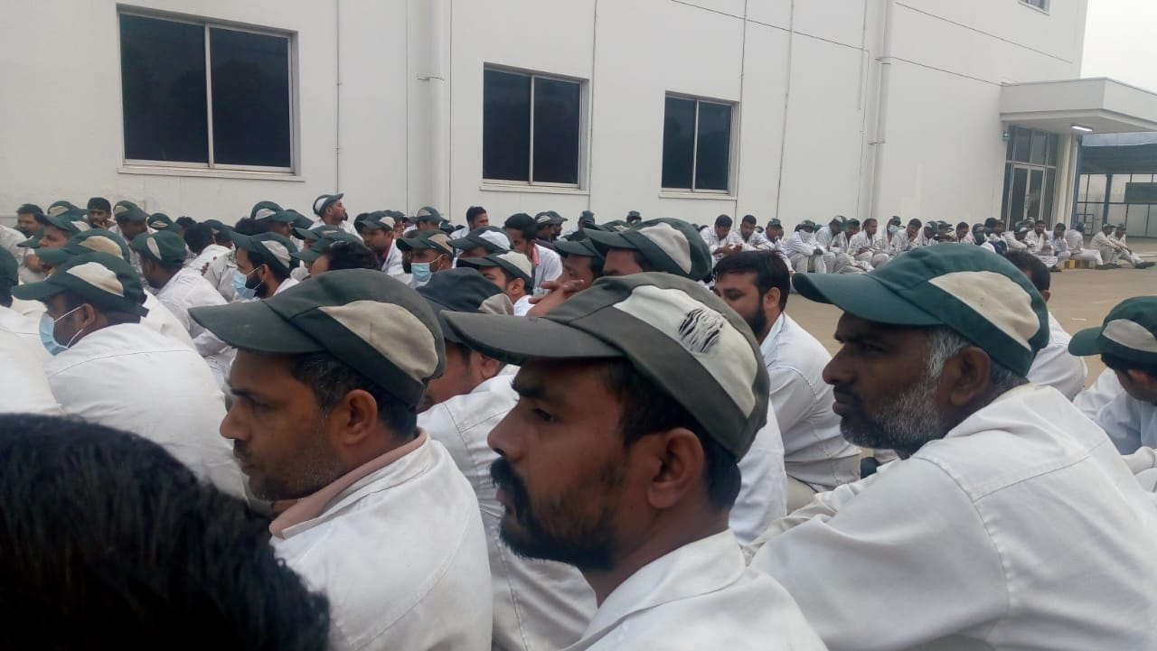 Manesar: Honda Workers