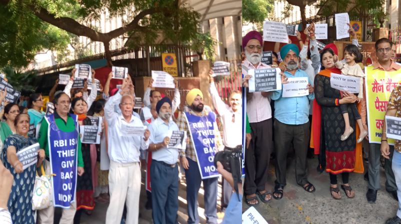 PMC Depositors Protest