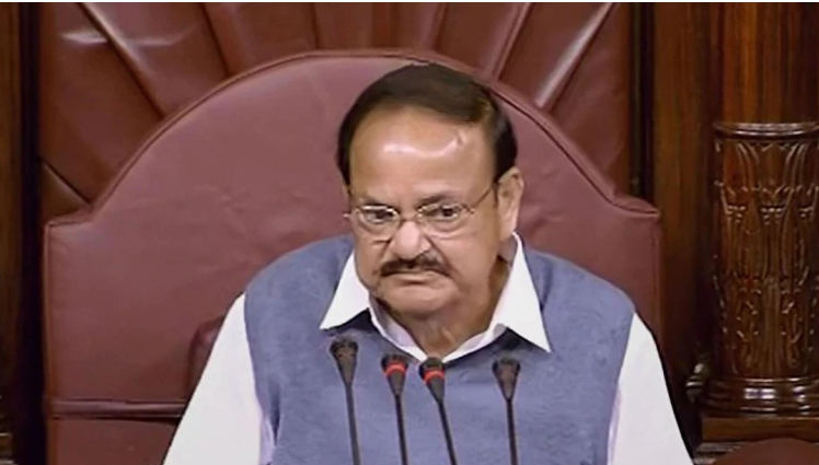 House Chairman M Venkaiah Naidu stalls matter despite Congress, other parties giving notices under Rule 267 seeking suspension of business.