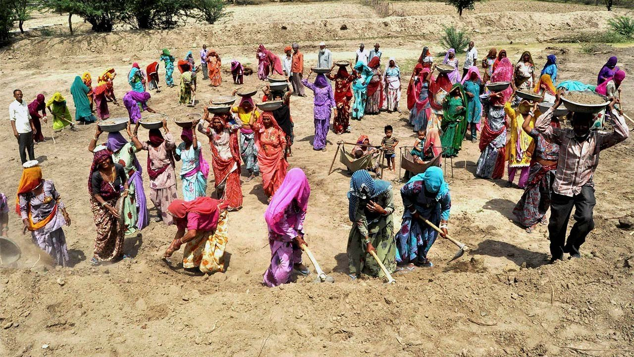 Pending MGNREGA Wages Touch Rs 745