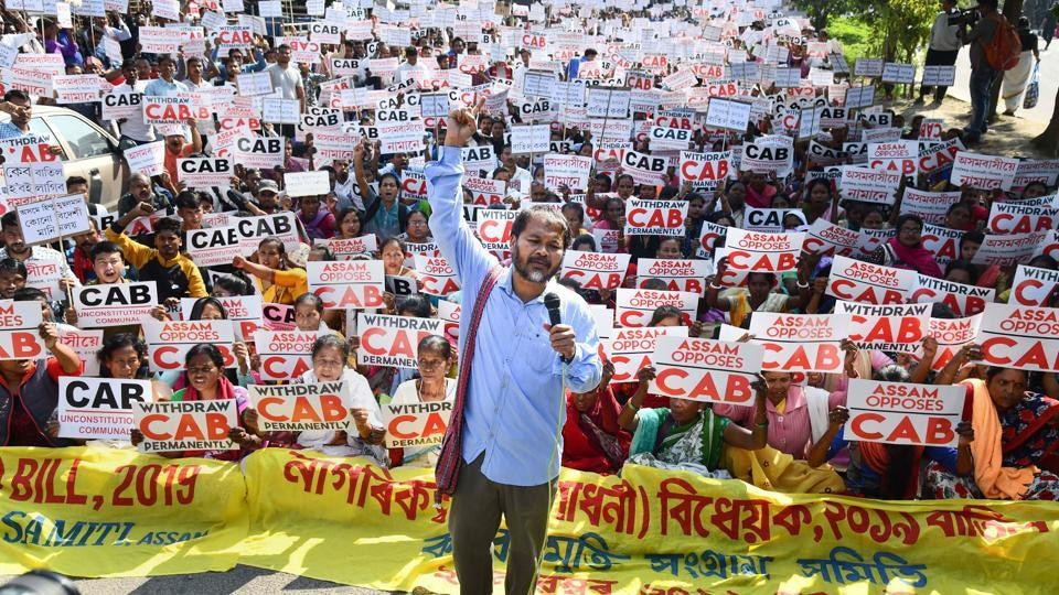 Akhil Gogoi Sent to 10-day NIA Custody Amid Mounting CAA Protests