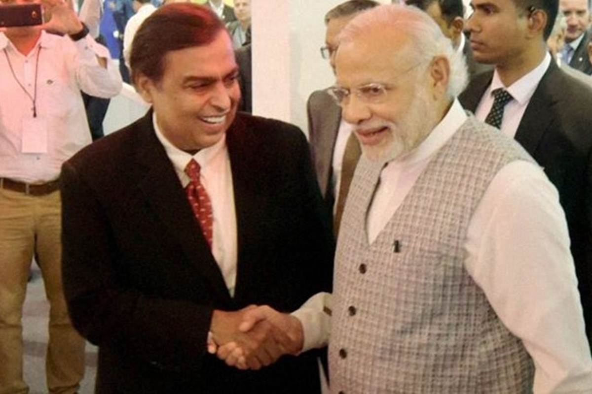 Is the Modi-Mukesh Ambani
