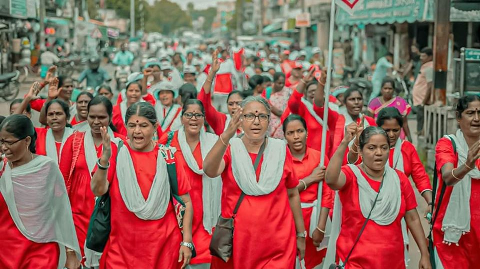 TN: Hundreds of Women March Against