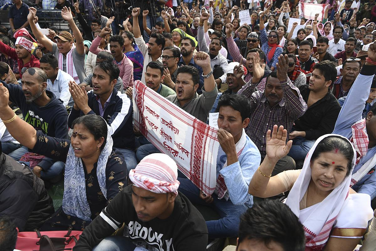 Anti-CAA Protests: How Assam Stands