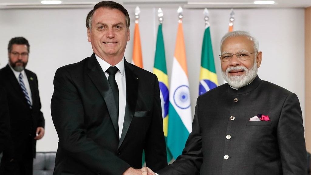 Far-right Brazilian president Jair Bolsonaro is India's guest for Republic Day this year. Photo: Alan Santos/PR