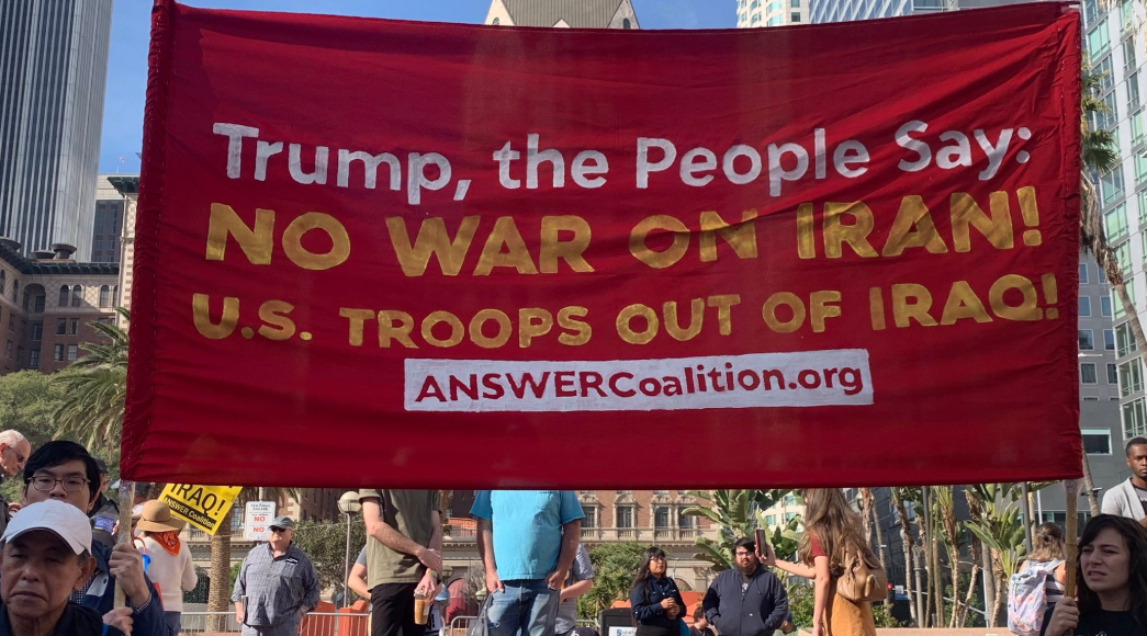 Anti-War Groups March Agains
