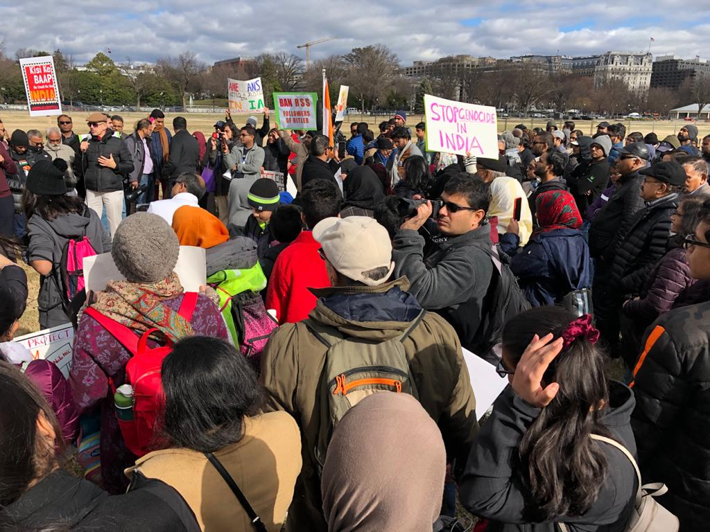 Indian Diaspora Rally in US, UK on R-Day to Protest CAA, Protect Constitution