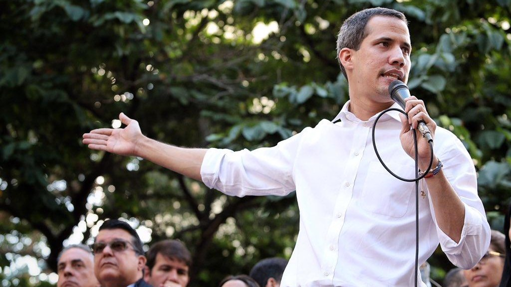 Juan Guaidó Threatens Attack Against TeleSUR