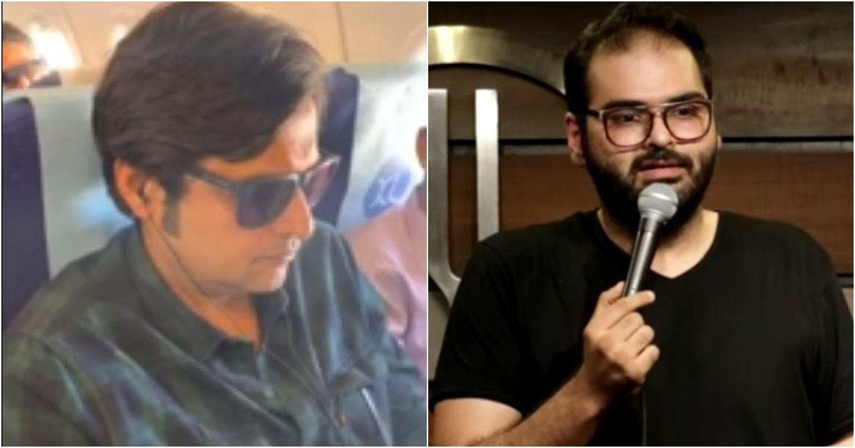Republic TV anchor Arnab Goswami and comedian Kunal Kamra