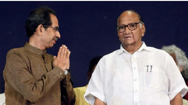 Thackeray with Pawar