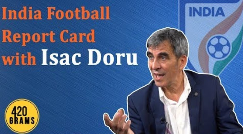 Indian football technical director Isac Doru interview
