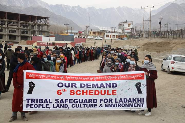 Rally in Ladakh: 'Need Constitutional Safeguards