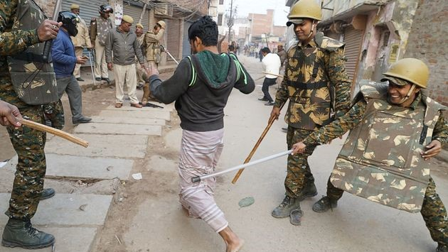 State violence in UP against anti-CAA protesters