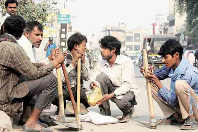 Daily Wage Labourers, Gig Workers Hit
