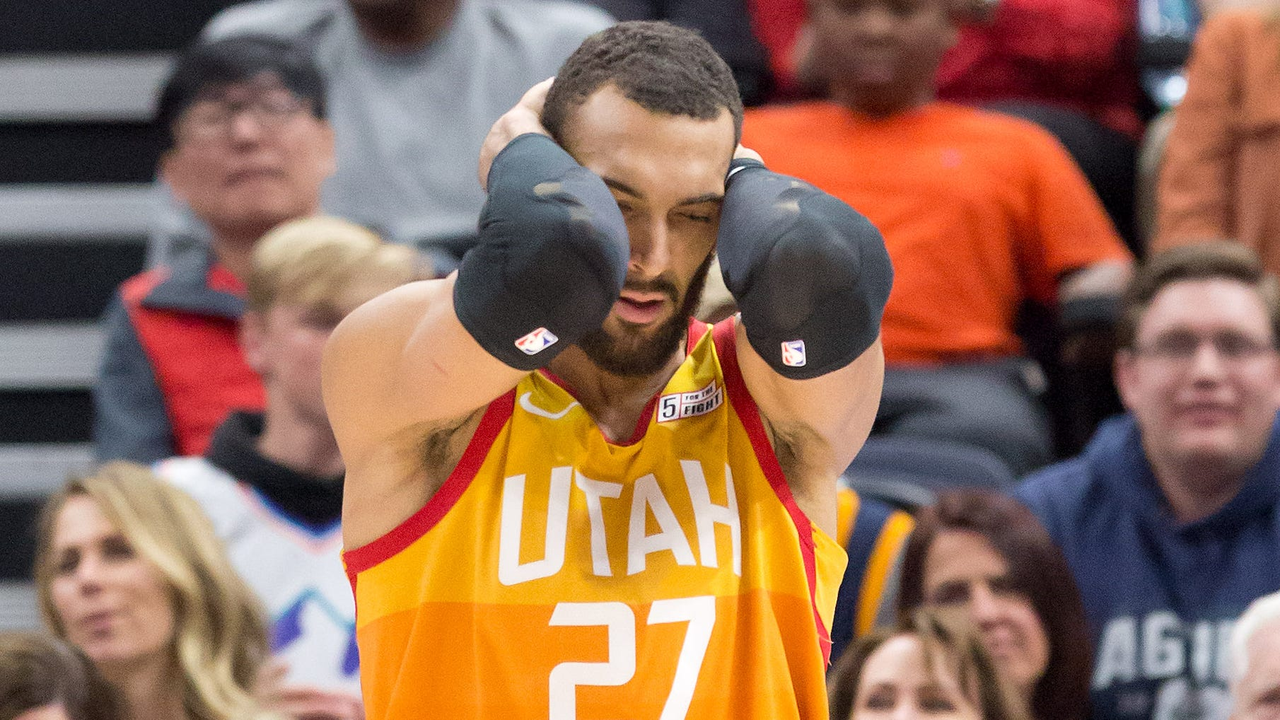 Utah Jazz centre Rudy Gobert was  one of the first sportspersons to test positive for Covid-19 last week. He apologised for his carelessness and advocated diligence in a video released on his accounts over the weekend.