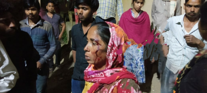 Dalit Woman Says She was Beaten up