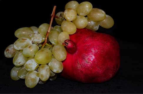 Monsoons, Grape and Pomegranate