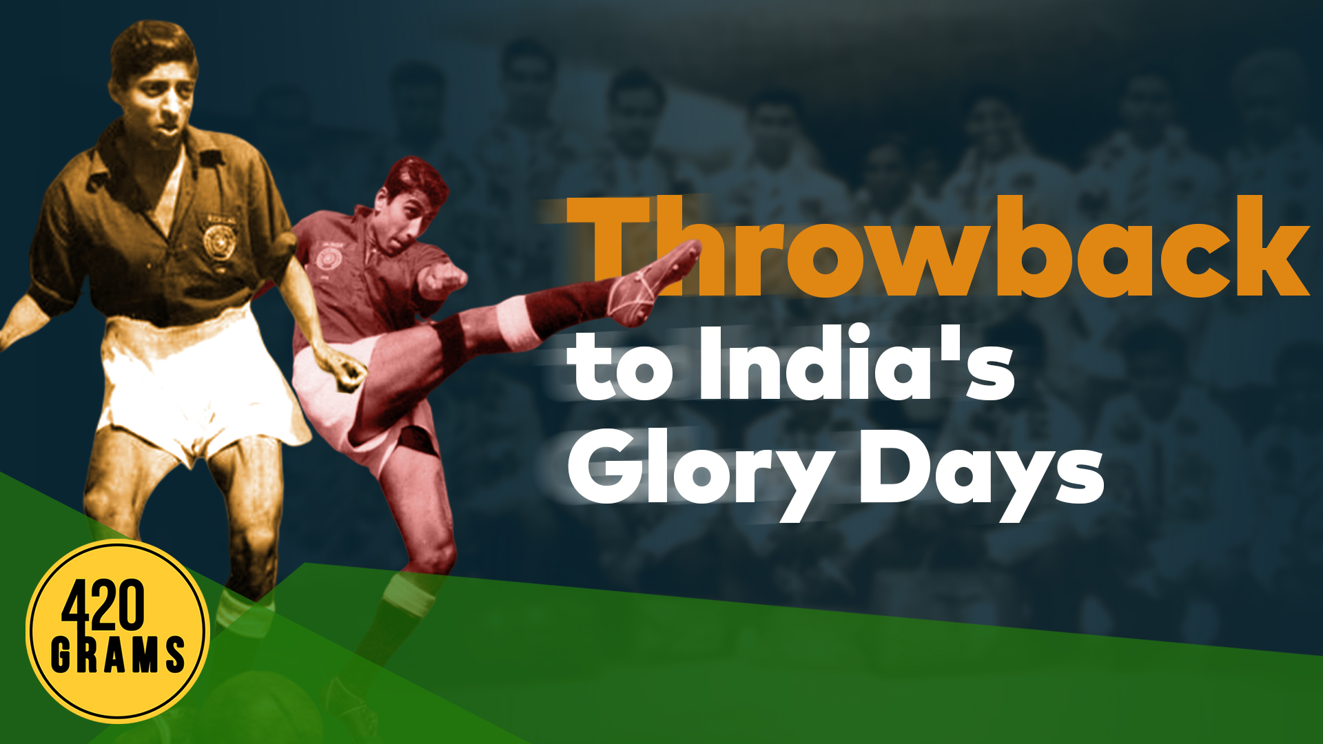 Tribute to Chuni Goswami and PK Banerjee and Indian football's golden days