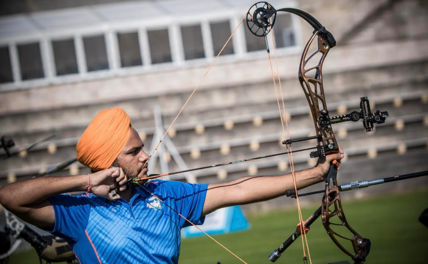 Indian archer Sangampreet Bisla