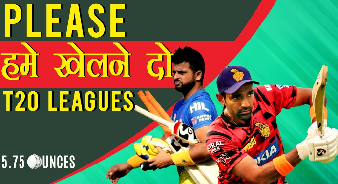 Indian cricket players in foreign T20 leagues