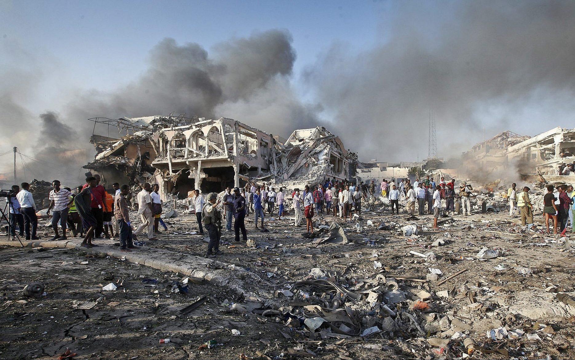 Doing by Bombing Somalia