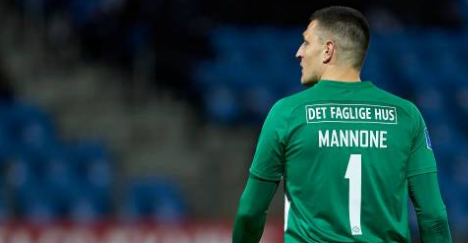 Vito Mannone, goalkeeper of Esbjerg fB