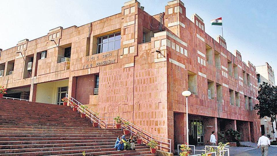 JNU: Students Stranded Outside Campus Appeal to Administration for Return