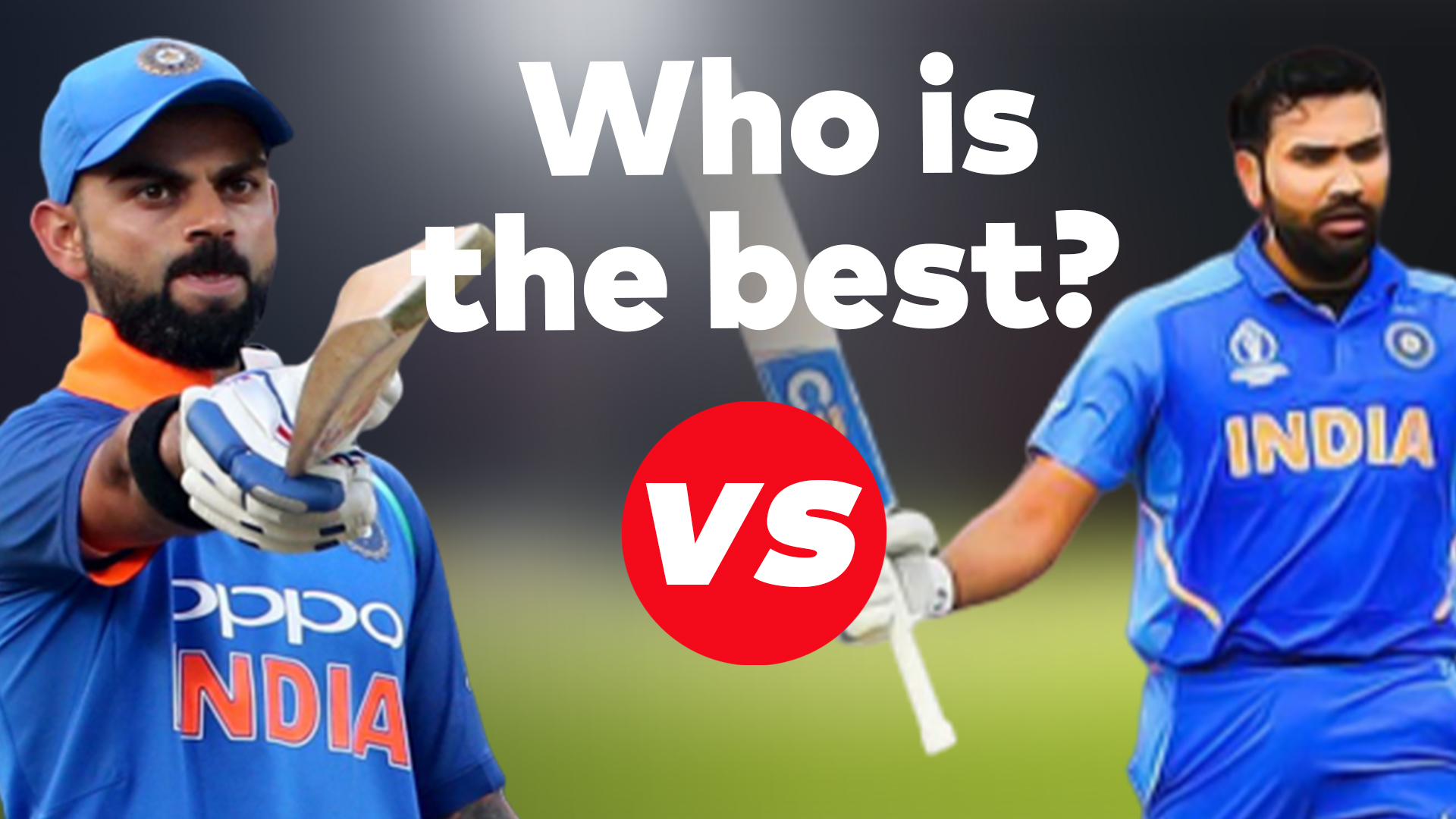 Virat Kohli vs Rohit Sharma in white ball cricket