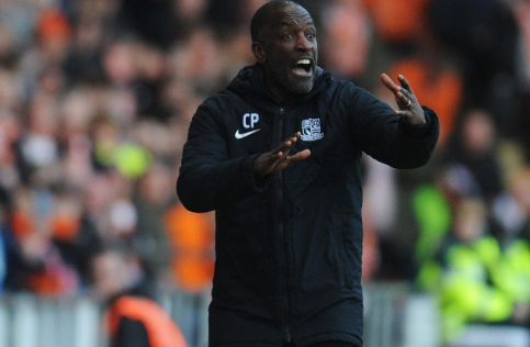 Chris Powell, one of the very few BAME managers in English football