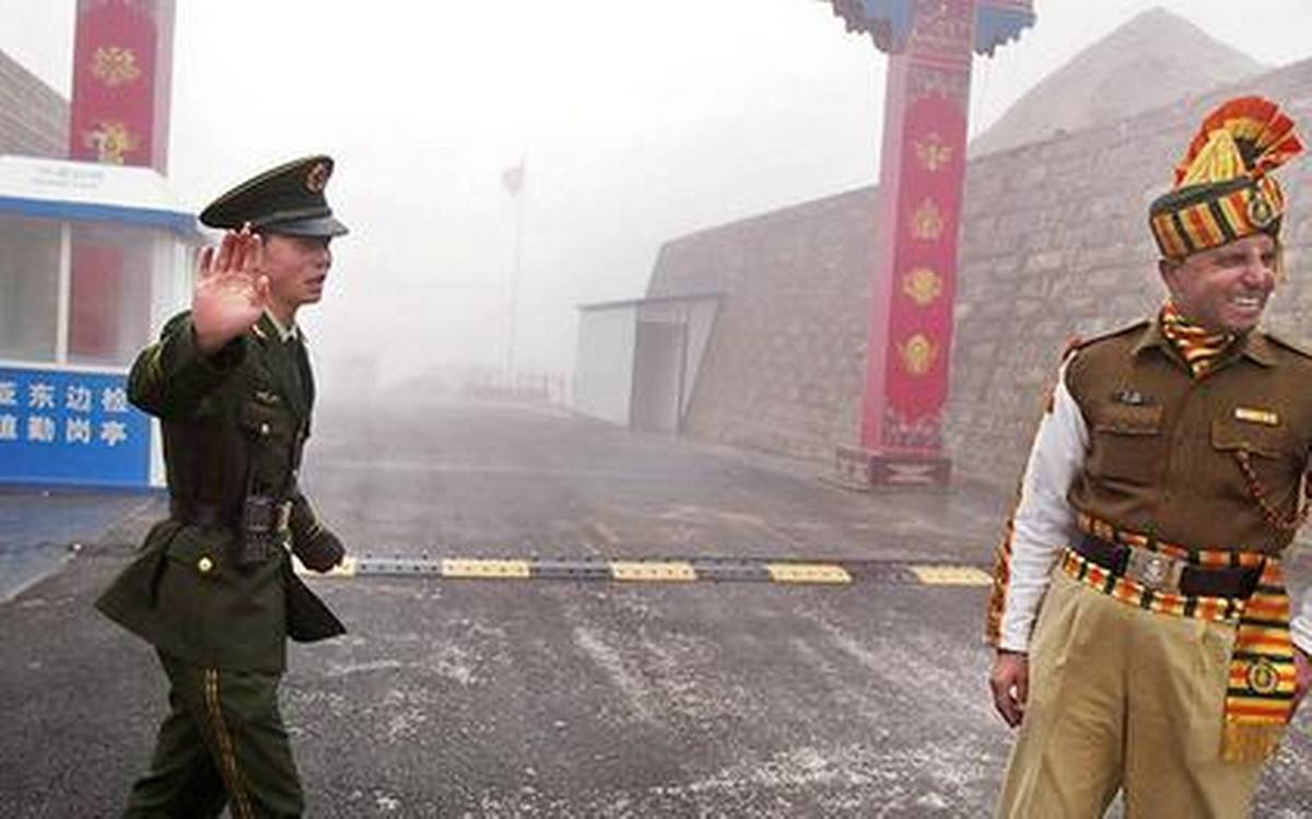India over tensions with China