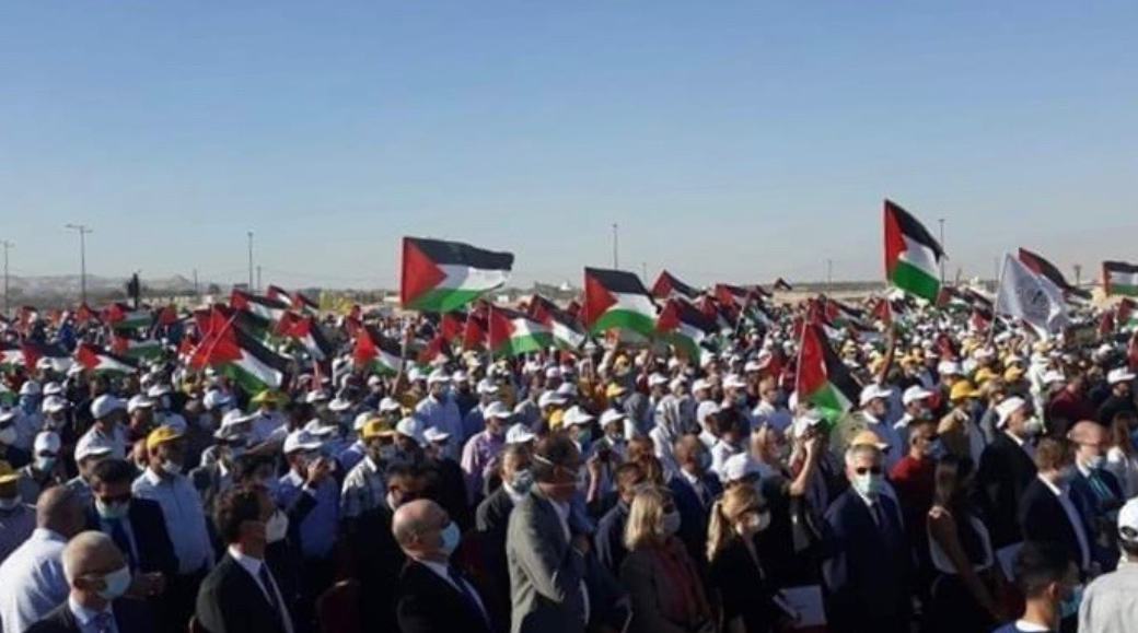 Several International Delegates Join Palestinians