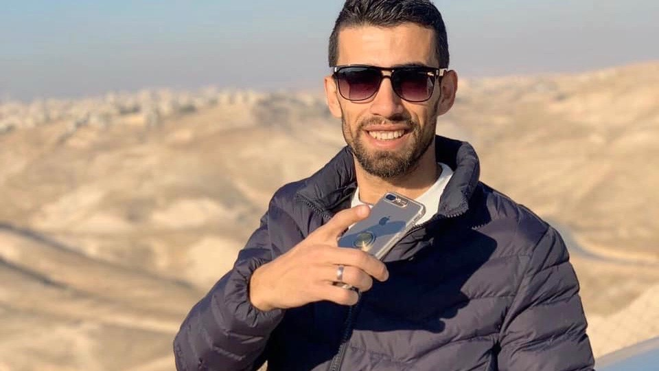 Ahmed Mustafa Erekat, killed by Israeli forces on his sister's wedding day.