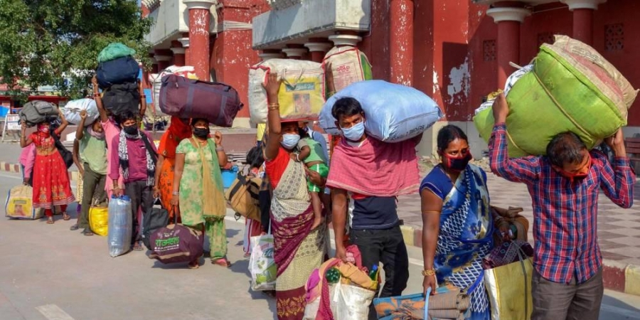 Bihar Police Cite Return of Migrants to Anticipate