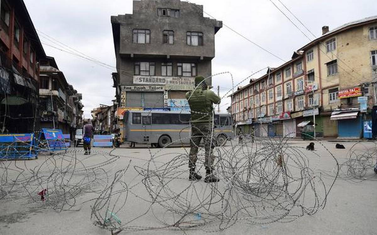 Lockdowns in jammu and kashmir