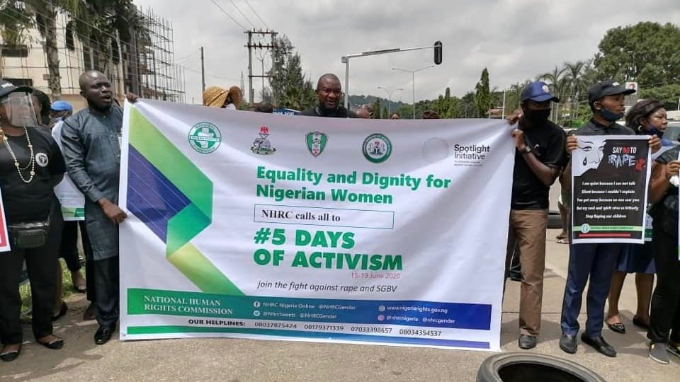 Nigeria's Human Rights Commission Workers' strike blocked by court order