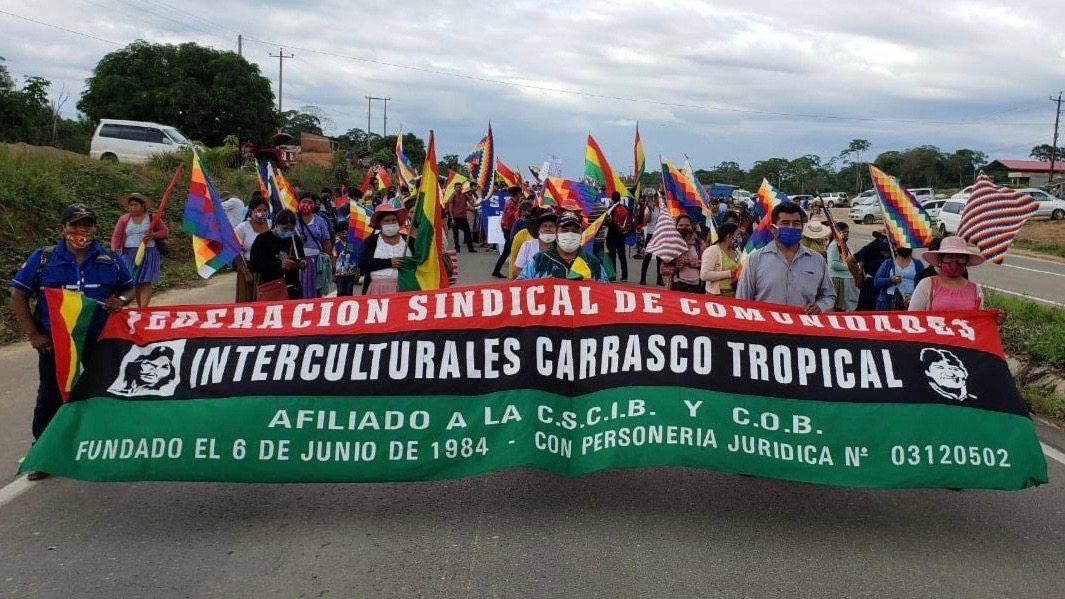 Bolivians Reject Postponement of Elections with Massive Mobilisations