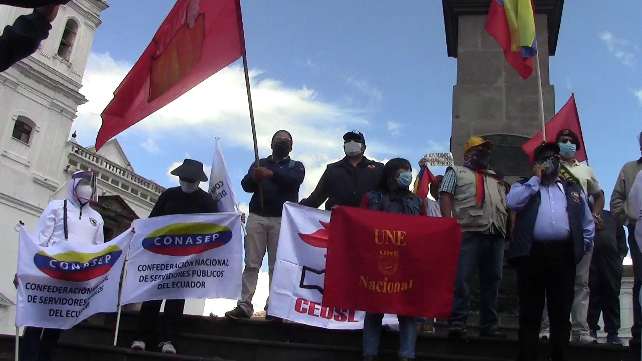 Ecuadorian Trade Union Calls for National Mobilisation Against Moreno's Government
