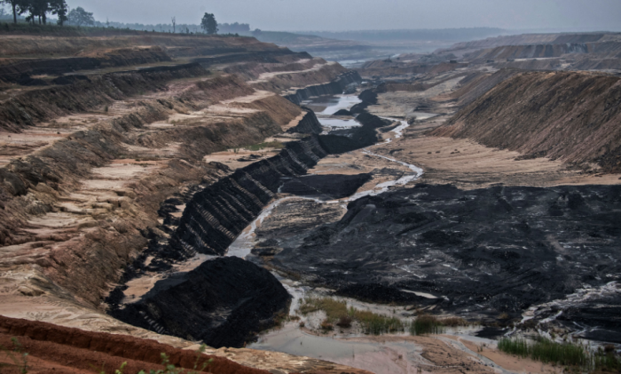 The PEKB coal mine in the Hasdeo Aranya forests. Adani is the MDO (mine developer and operator). Photo by Brian Cassey, www.briancasseyphotographer.com