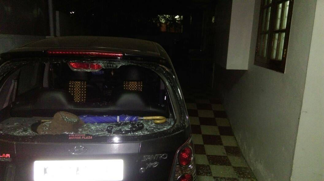 BJP state office attacked in Kerala capital