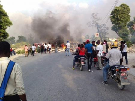 Protests in Haiti Owing to Fuel Price Hike