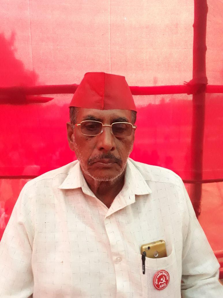Kisan Gujar, AIKS Maharashtra President.jpeg