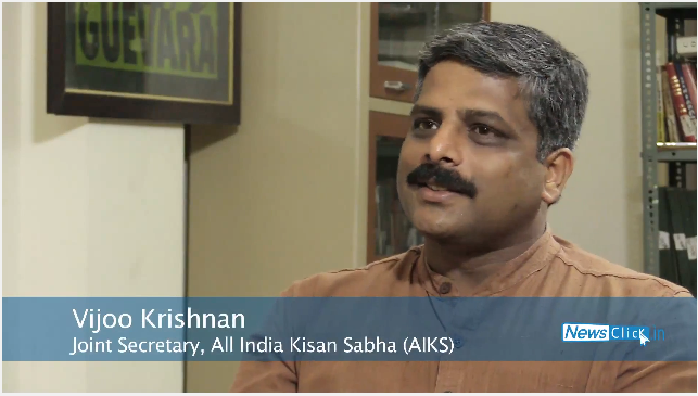 Vijoo Krishnan on Agrarian Crisis and Rising Prices of Pulses.png