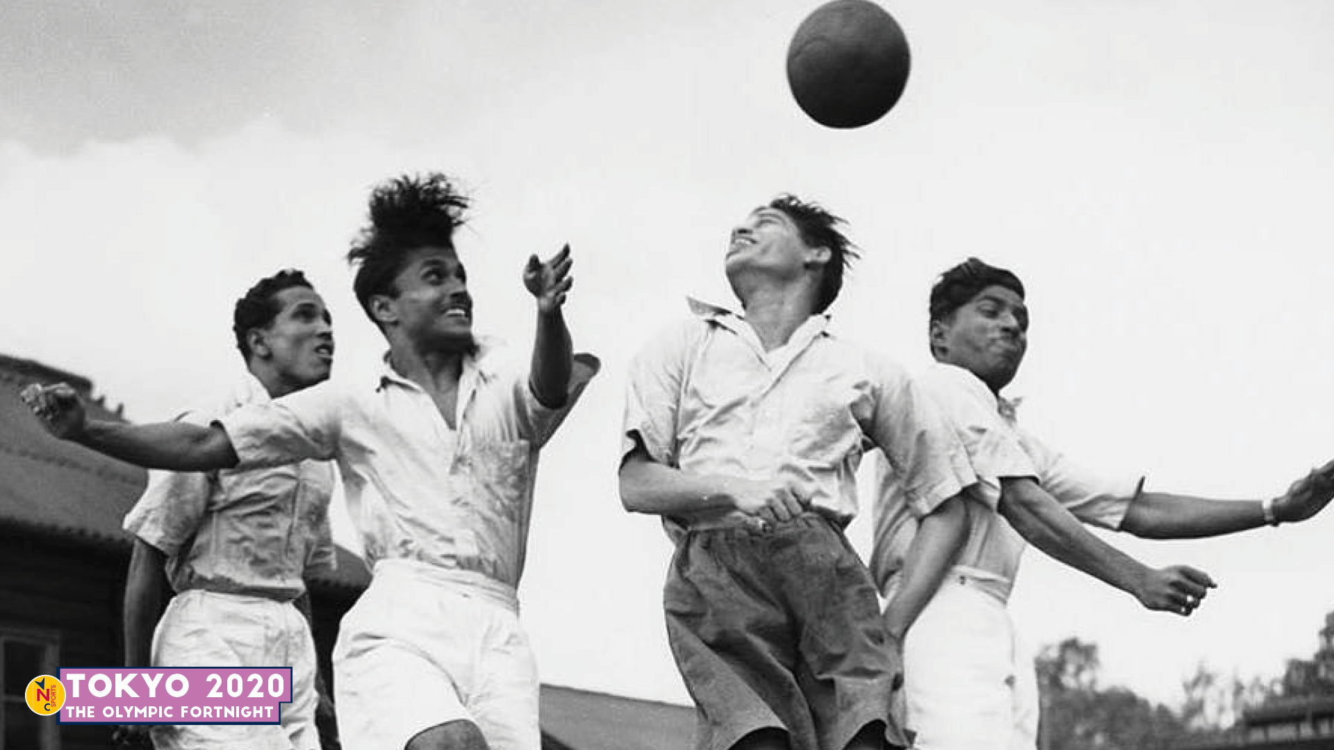 Indian football team players for London Olympics 1948