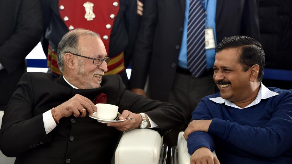 Anil Baijal And AAP
