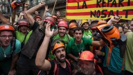 Catalan General Strike, 3 October 2017 - Guy Smallman