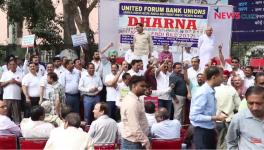 Banking Employees Protest to Safeguard Public Sector Banks