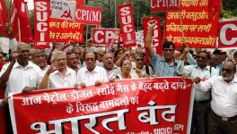 Bharat Bandh by Left parties