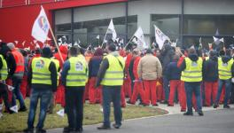 Audi Workers In Hungary
