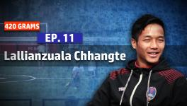 Lallianzuala Chhangte's Viking FK football trial